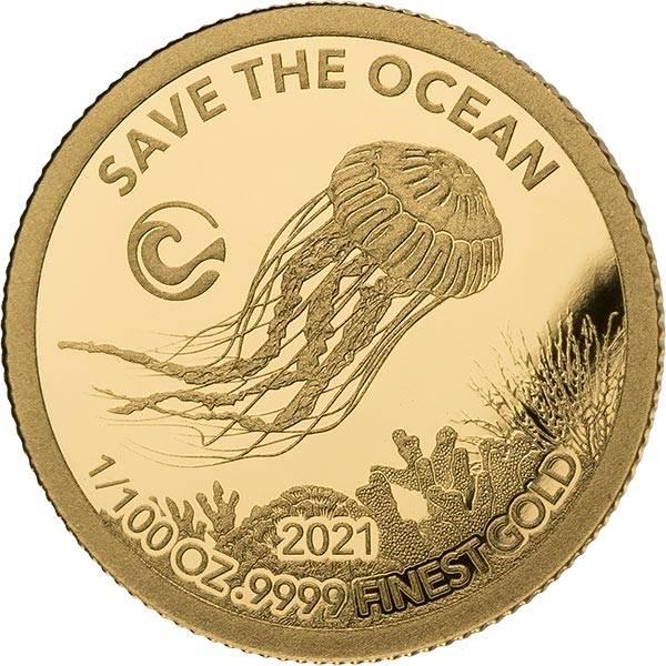 100 Francs Senegal Qualle 2020