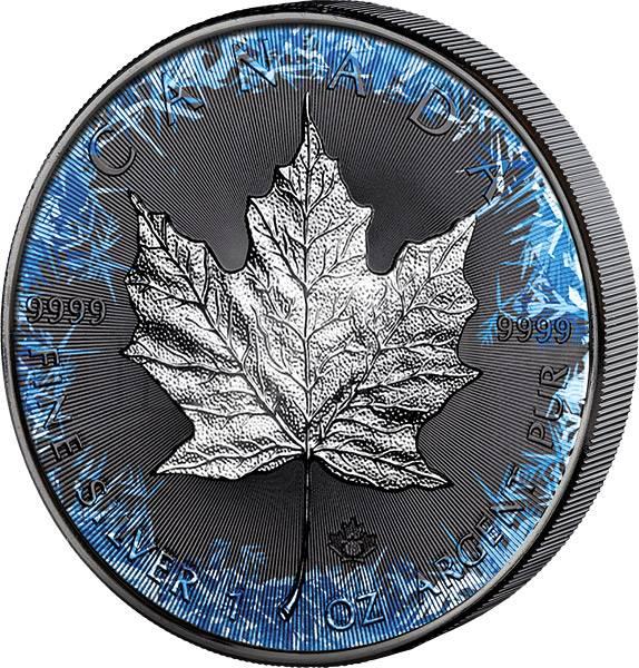 5 Dollars Kanada Deep Frozen Edition Maple Leaf 2018 -FOTOMUSTER