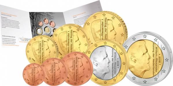 Euro-Kursmünzensatz Niederlande 2016 Stempelglanz