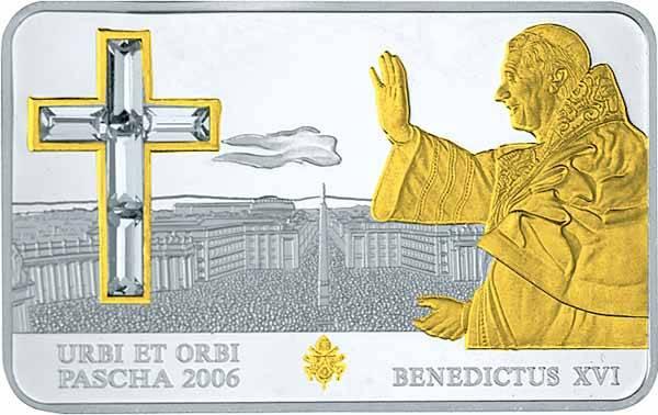 5 Dollars Cook-Inseln Urbi et Orbi Papst Benedikt XVI 2006