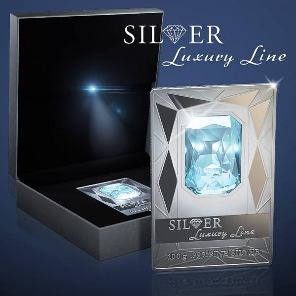 20 Dollars  Cook-Inseln Silver Luxury Line 2011  Prooflike