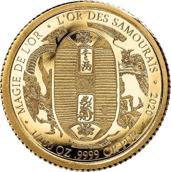 100 Frances Kongo Das Gold der Samurai 2020