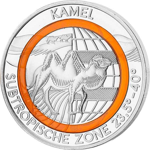 Gedenkprägung Subtropische Zone Kamel