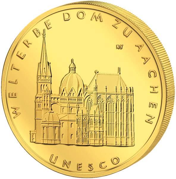 100 Euro BRD UNESCO-Weltkulturerbe Dom zu Aachen 2012