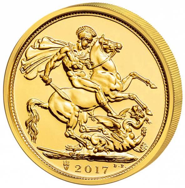 1 Sovereign Großbritannien Elizabeth II. 2017