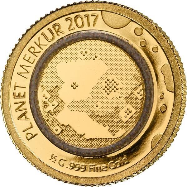100 Francs Kongo Planet Merkur 2017