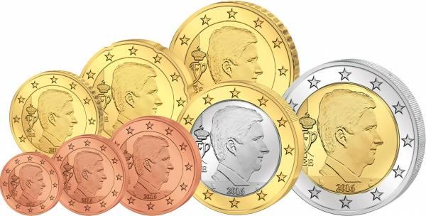 Euro-Kursmünzensatz Belgien ab 2014