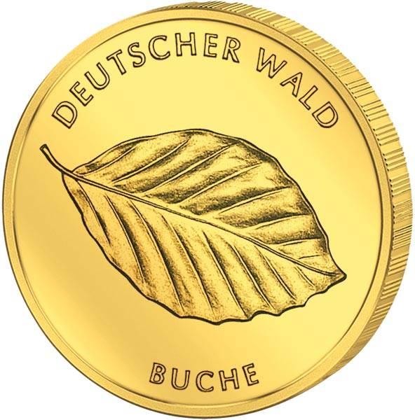20 Euro BRD Deutscher Wald Buche 2011