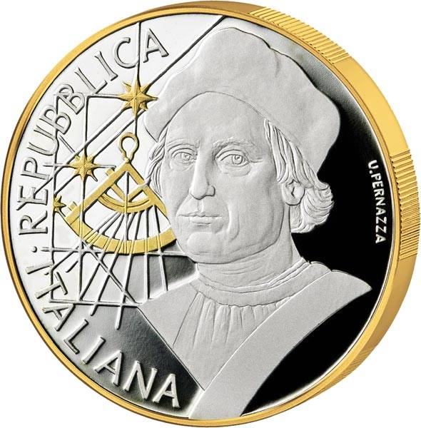 10 Euro Italien Christopher Kolumbus 2019
