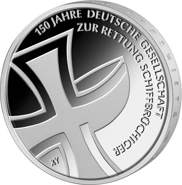 10 Euro BRD 150 Jahre Deutsche Gesellschaft zur Rettung Schiffbrüchiger 2015