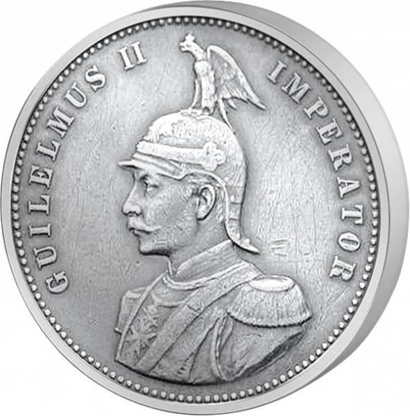 1 Rupie Deutsch Ostafrika Wilhelm II. 1890-1902 Sehr schön