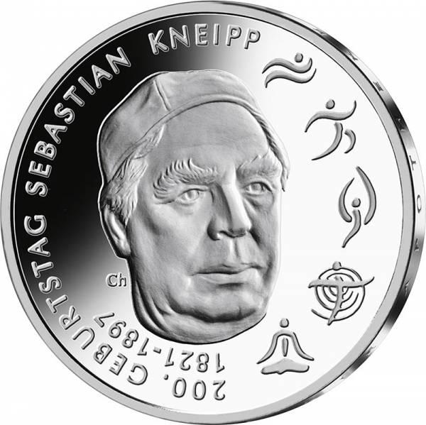 20 Euro BRD Sebastian Kneipp 2021
