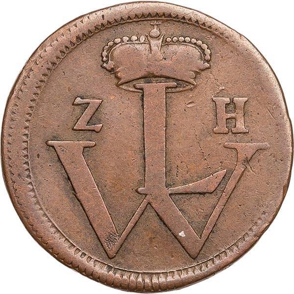 1 Heller Hessen-Kassel Landgraf Wilhelm VIII. 1751 - 1759