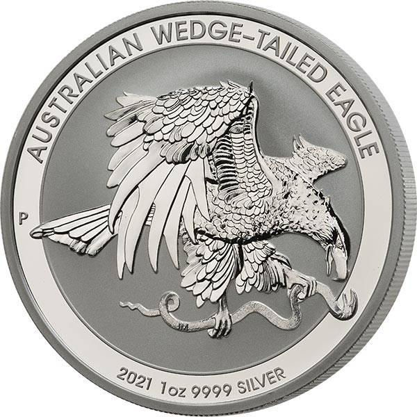 1 Unze Silber Australien Keilschwanzadler 2021