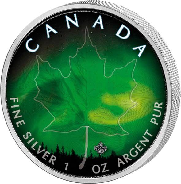 5 Dollars Kanada Maple Leaf Manitoba 2018