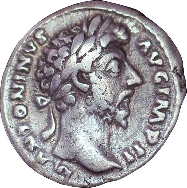 Denar  Rom Kaiser Marcus Aurelius 161-180 n. Chr.  Sehr schön