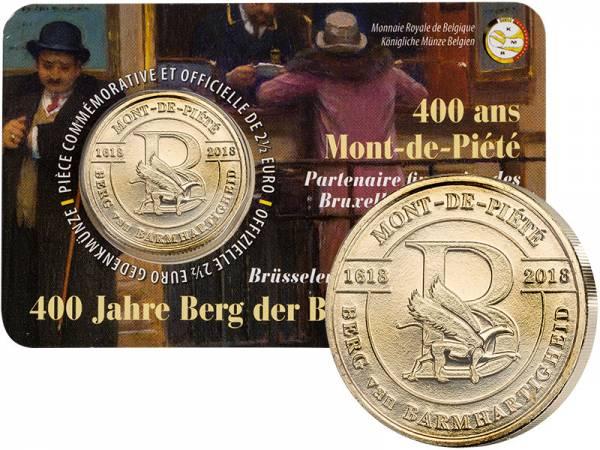 2,5 Euro Belgien 400 Jahre Berg van Mercy 2018