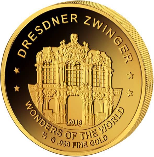 100 Francs Niger Dresdner Zwinger 2017