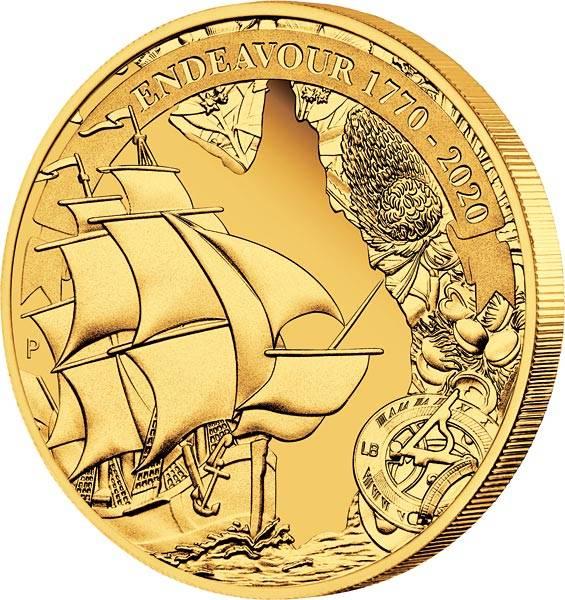 25 Dollars Australien Reise der Discovery - Endeavour 2020