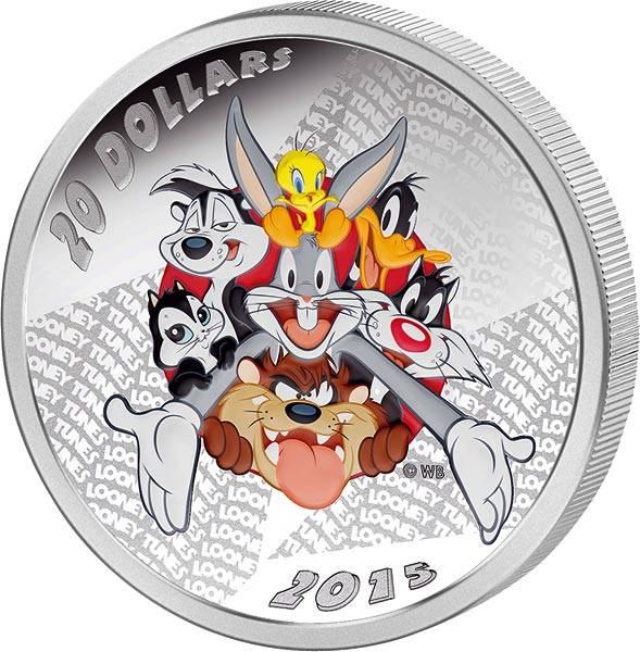 20 Dollars Kanada Looney Tunes Merrie Melodies 2015