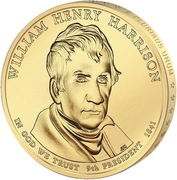 1 Dollar USA William Henry Harrison 2009 Stempelglanz