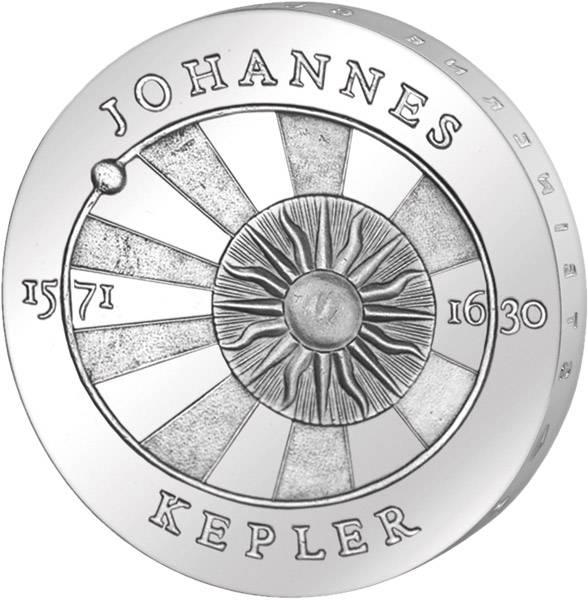 5 Mark DDR Johannes Kepler 1971