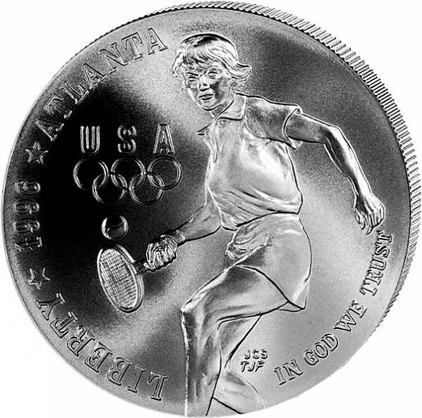 1 Dollar USA Olympiade Atlanta Tennis