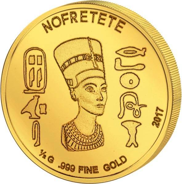 100 Francs Elfenbeinküste Nofretete 2017