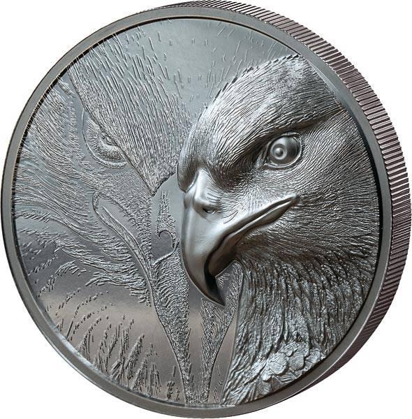 1.000 Togrog Mongolei Majestätischer Adler 2020