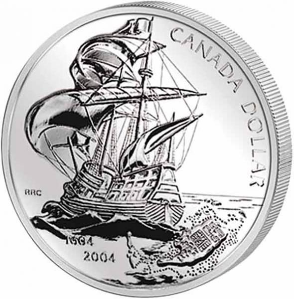 1 Dollar Kanada St. Croix Colony 2004 Polierte Platte