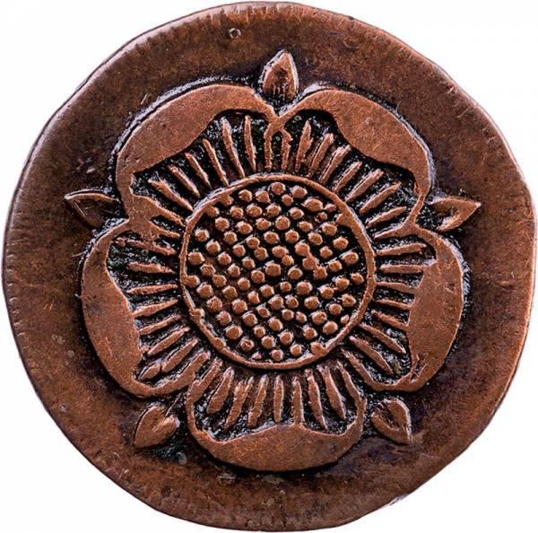 1 Pfennig Lippe Fürst Paul Alexander Leopold 1802