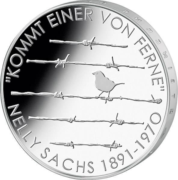 20 Euro BRD 125. Geburtstag Nelly Sachs 2016