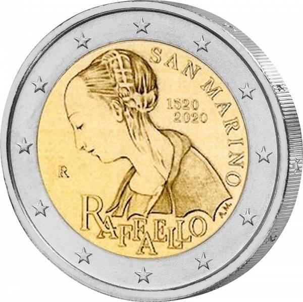 2 Euro San Marino 500. Todestag von Raffael 2020