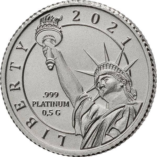 1 Dollar Fidschi Freiheitsstatue 2021