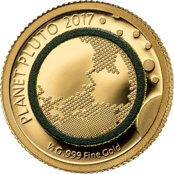 100 Francs Niger Pluto 2017
