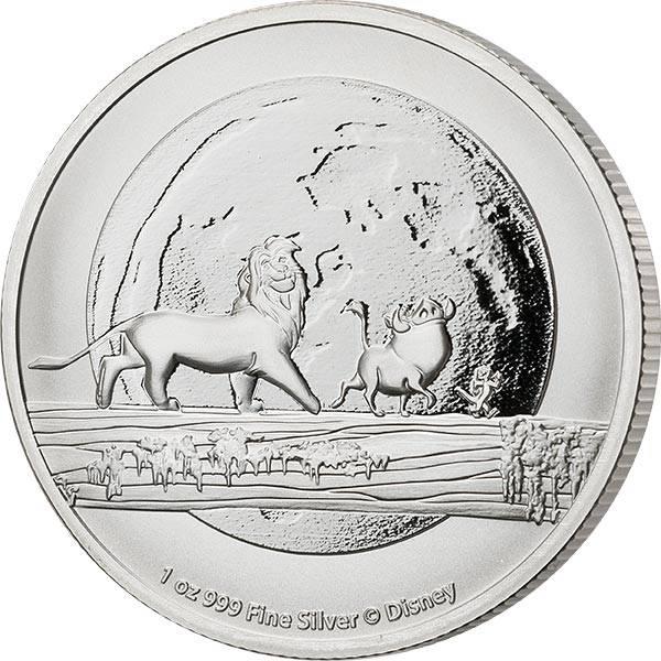 1 Unze Silber Niue König der Löwen - Hakuna Matata 2021