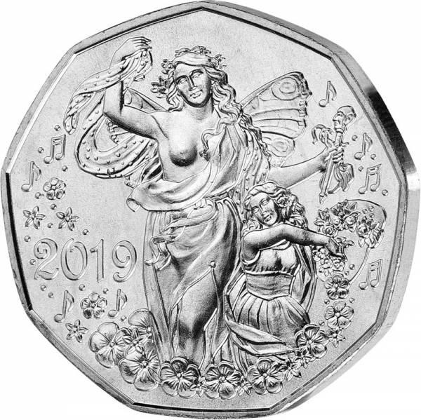 5 Euro Österreich Neujahr Lebensfreude 2019