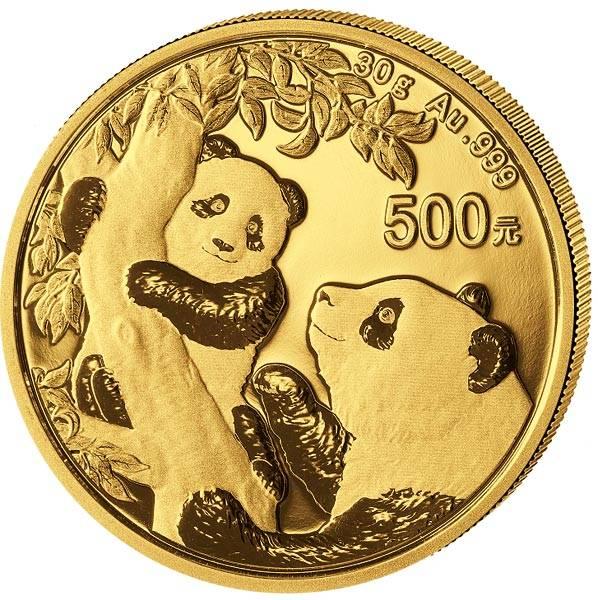 500 Yuan China Panda 2021