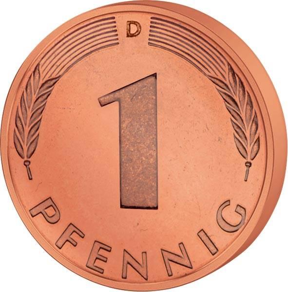 1 Pfennig BRD 1950