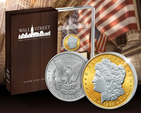 1 Dollar Wall Street Investment Heritage Edition Morgan-Dollar 2013