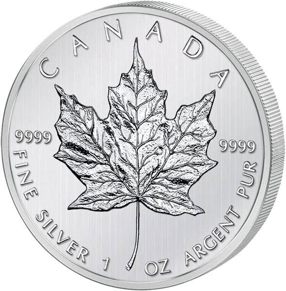 5 Dollars 1 Unze Kanada Maple Leaf 2012 Stempelglanz