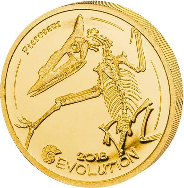 1.000 Togrog Mongolei Evolution Pterosaurus 2018