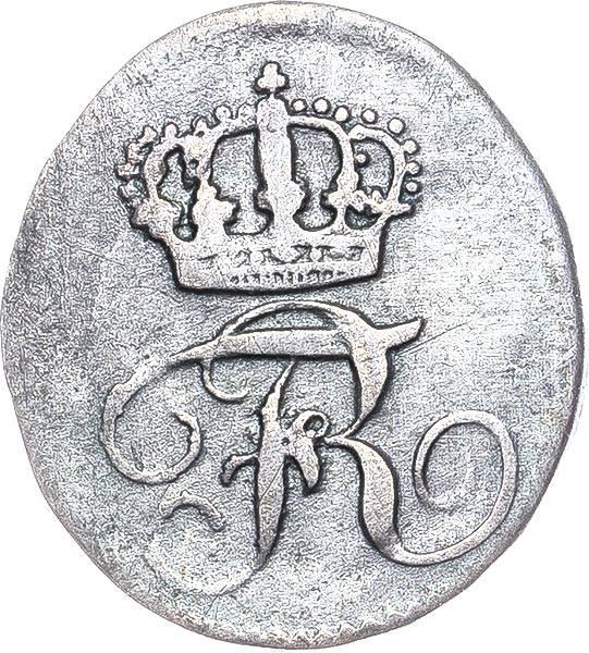 1 Kreuzer Württemberg König Friedrich I. 1807 - 1816
