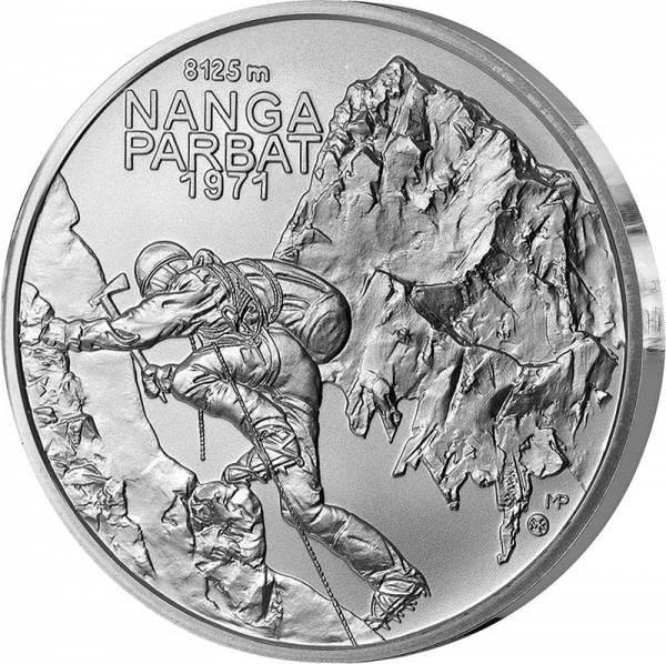 10 Euro Slowakei 50 Jahre Erstbesteigung auf 8000 Meter auf einen Berg 2021