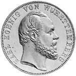 Taler Vereins Doppeltaler Ulmer Münster 1871 vz-st