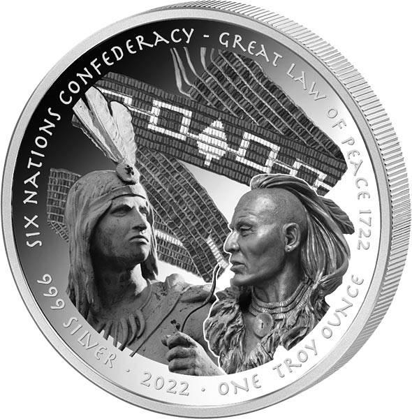1 Dollar USA Oglala Lakota Sioux Nation - Großes Friedensgesetz 2022