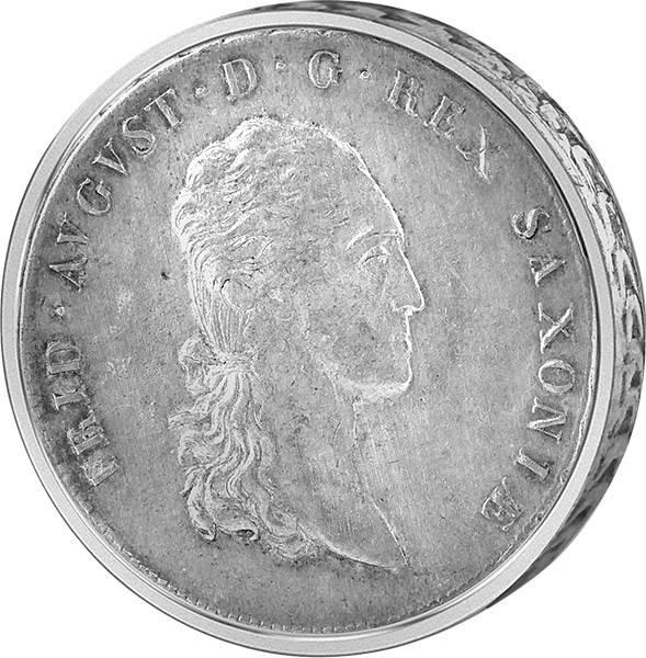 Konventionstaler König Friedrich August I. 1807-16 sehr schön