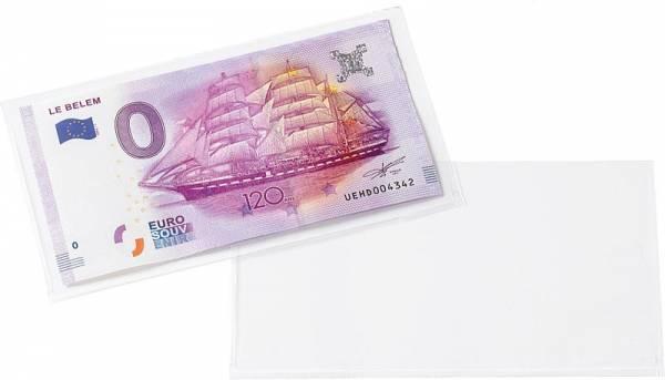 50 Schutzhüllen für Banknoten und 0-Euro-Banknoten