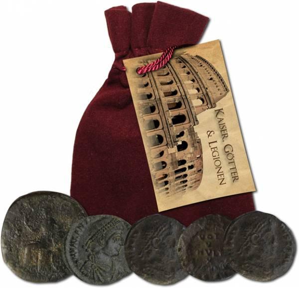 5 Münzen des Römischen-Kaiserreichs