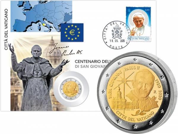 2 Euro Vatikan Numisbrief 2020
